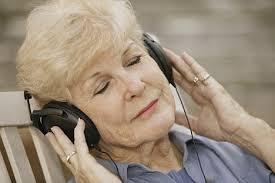 elder on headphones 2