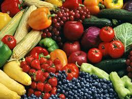 veggies and berries